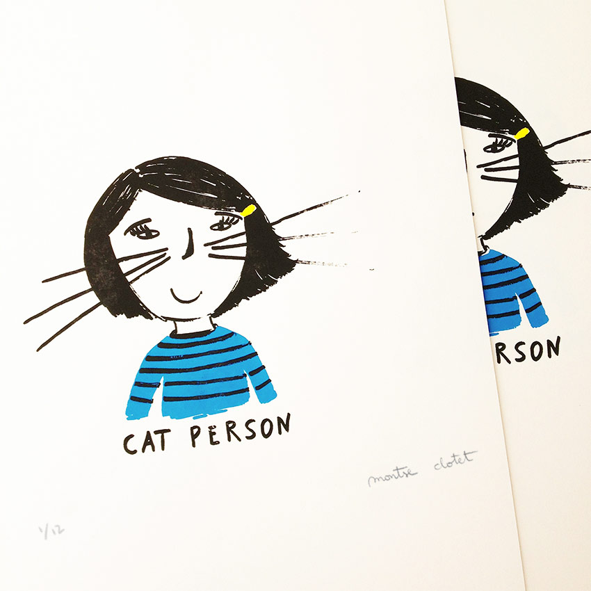 Cat Person, by Montse Clotet.