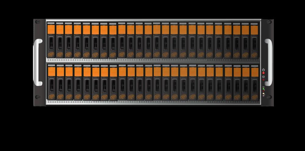 """ミニDDP &マイクロDDPシリーズ  ミニ DDP シリーズは2,5"""" HDD、SSDまたはその組み合わせでご提供できます。一方マイクロDDPはSSDが8つです。DDP ボリュームはiSCSIプロトコルとイーサーネットケーブルを使用します。そのようなDDPボリュームを誰もが同時に読み、書き込むことができるようArdis TechnologiesはAVFS技術を開発しました。  >> 詳しくはこちら"""