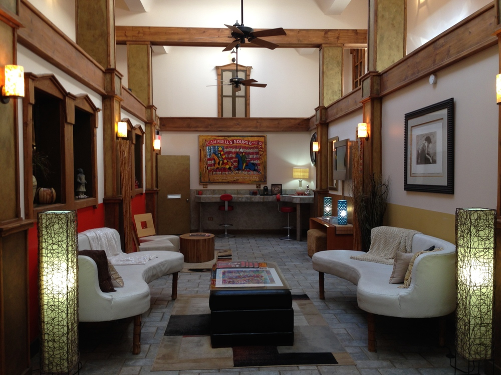 Lobby of Luxx Hotel