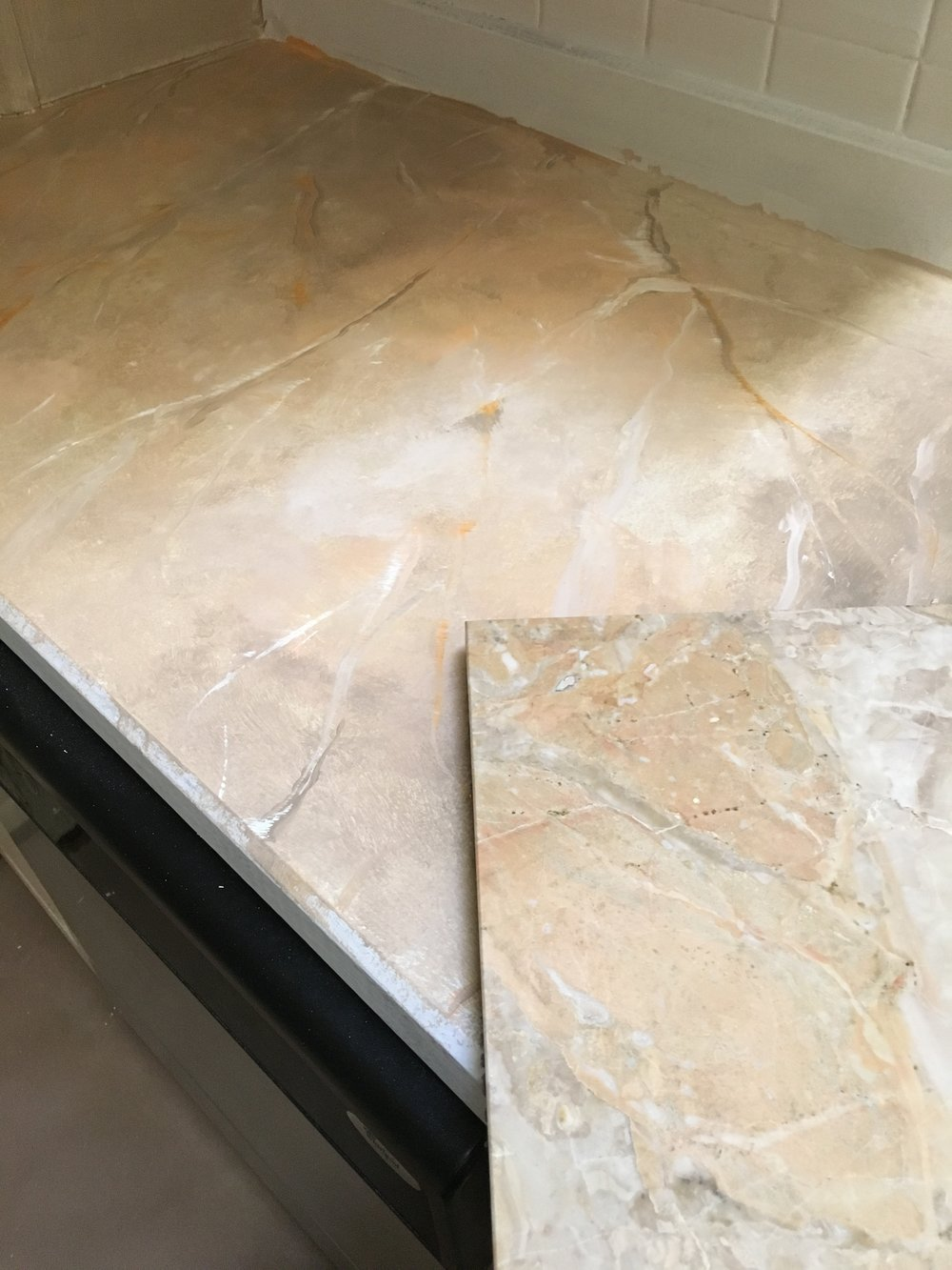 Countertop overlay by KB Designs