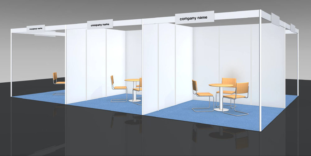 3m*3m Exhibition Stand