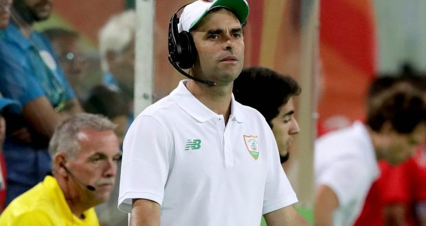 Craig Fulton, Head Coach, Irish Mens Hockey Team
