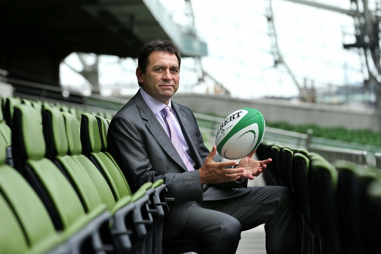 David Nucifora, High Performance Director, IRFU
