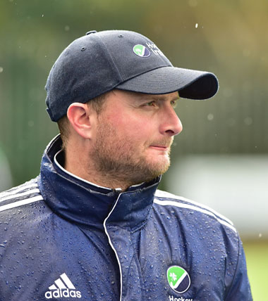 Graham Shaw, Head Coach of Irish Ladies Hockey Team