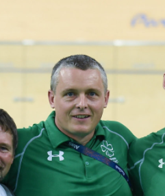Tommy McGowan, Team Manager, Paralympic Cycling