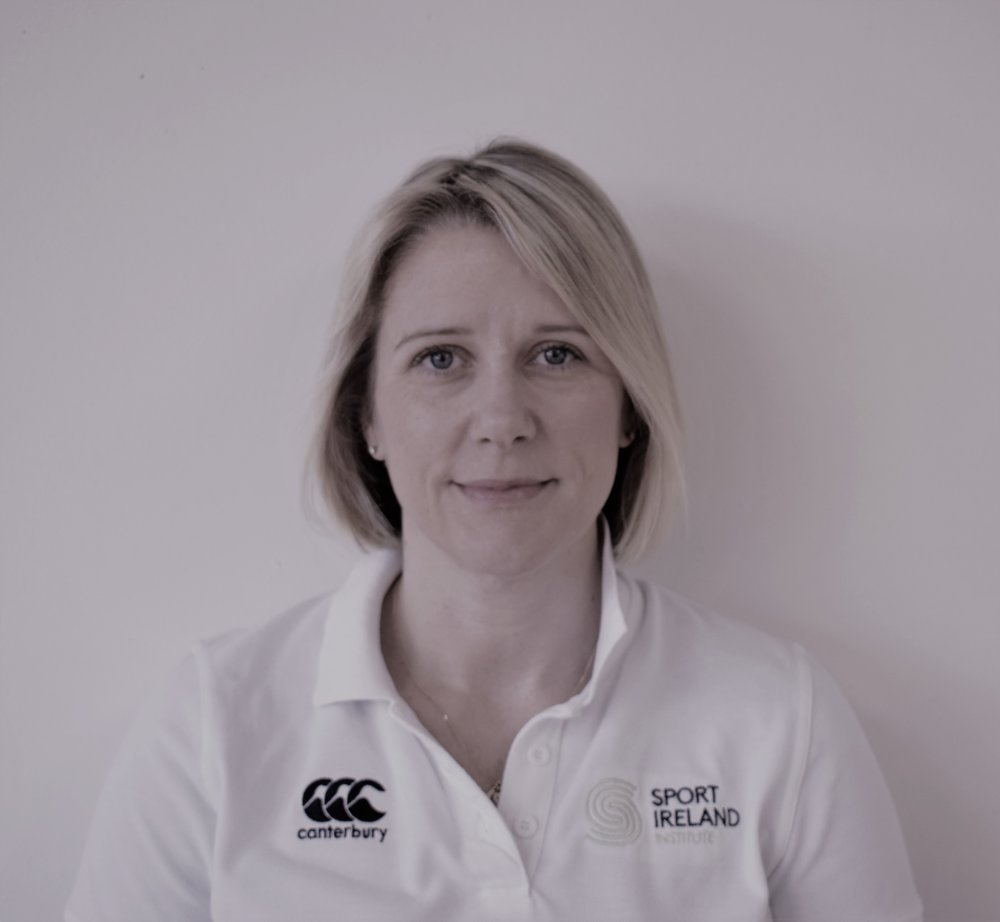Sarah-Jane McDonnell, Head of Rehabilitation, Sport Ireland Institute