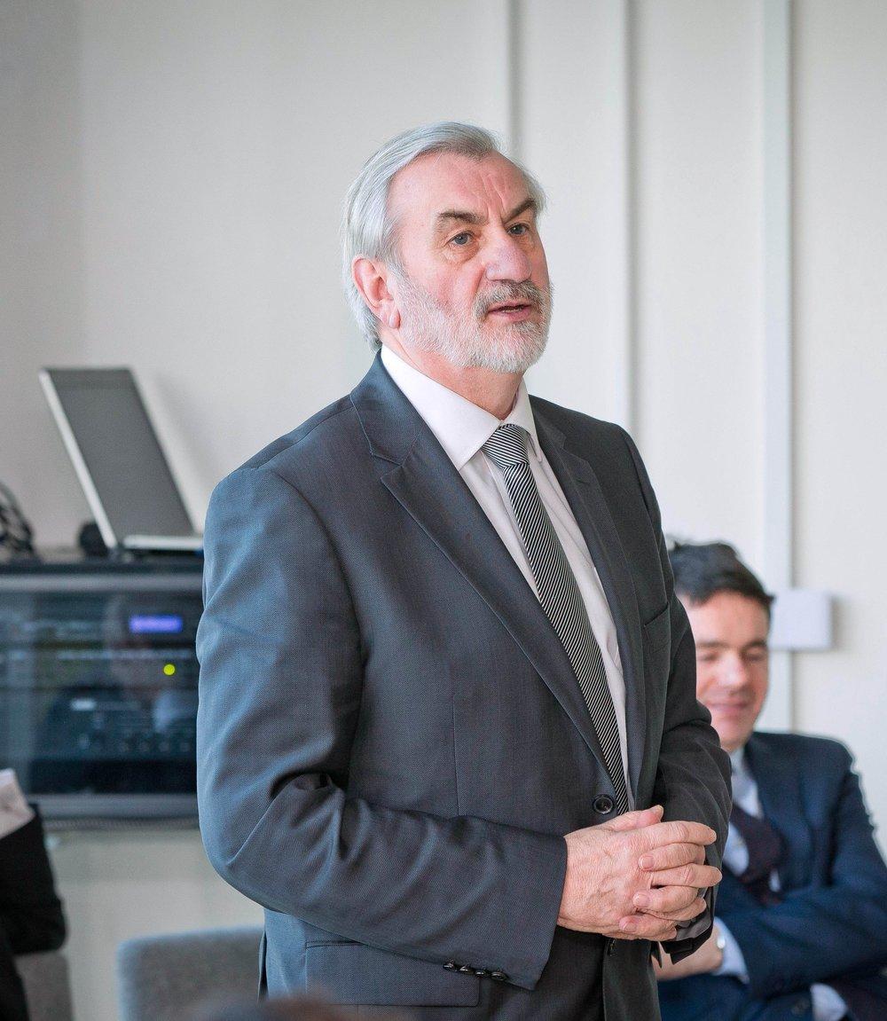 Kieran Mulvey, Chairman, Sport Ireland