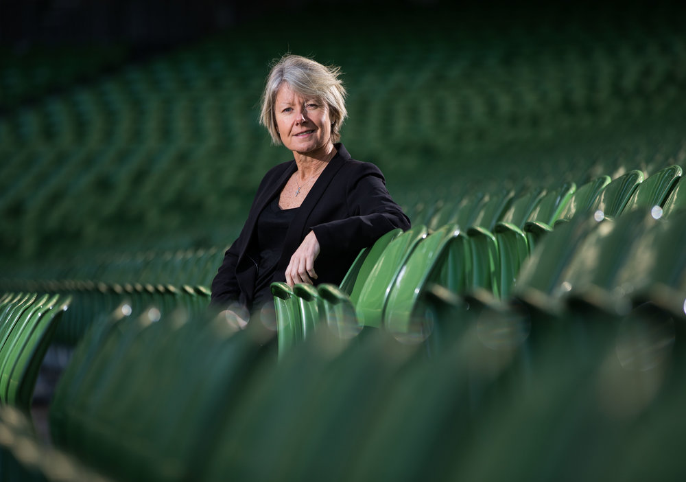 Sue Ronan, Head of Women's Football, FAI