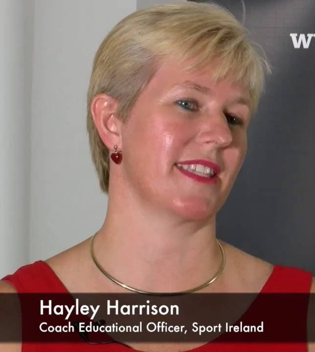 Hayley Harrison,  High Performance Coach, Irish Athletics & Coach Education Officer, Sport Ireland Coaching