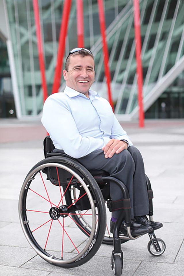 John Fulham, President, Paralympics Ireland