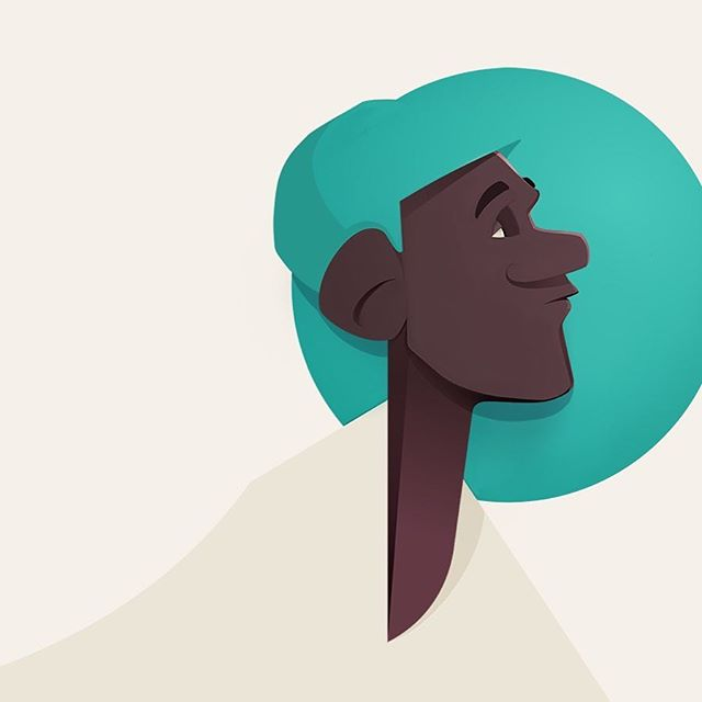 Getting back to doing some character designs - always fun to mix geometry with organics.  #99characters #portrait #caricature #illustration #character #characterdesign