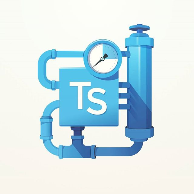 A second #typescript badge for #egghead. Grooving on the plumbing and piping metaphors.  #coding #programming #developers