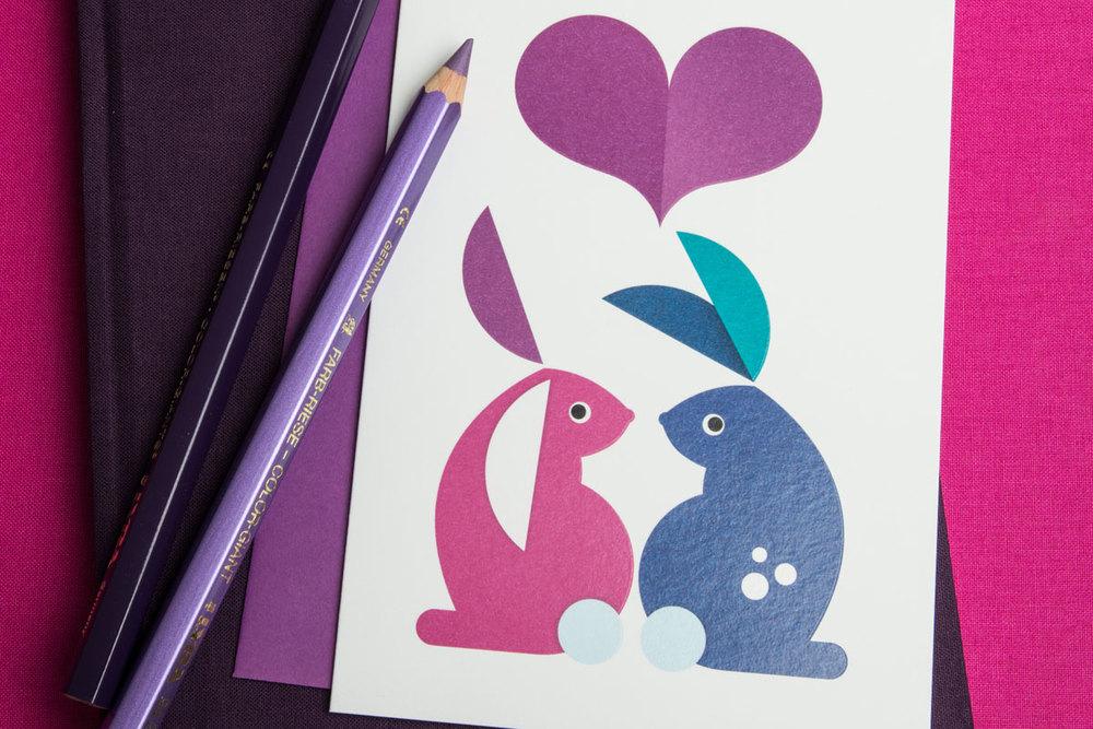 Mr Rabbit and his Honeybunny