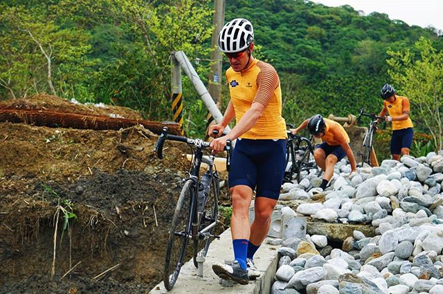 Almost one year since we rode Taiwan and sad to say that the roads that we rode (and walked and pushed our bikes for 3km) were destroyed by the recent earthquake.