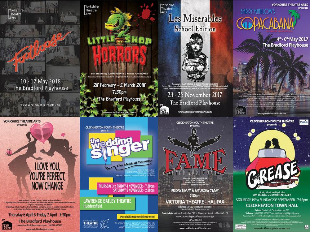 Yorkshire theatre arts: - Previous Shows
