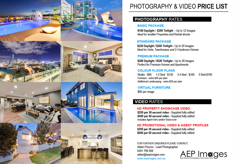 Commercial Photography Package  >> Prices Real Estate Photography Brisbane Aep Images