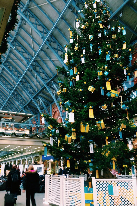 Victoria Farr St Pancras Christmas Tree