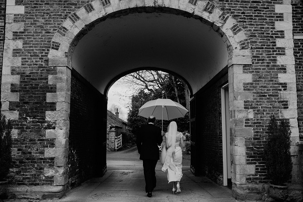 Rainy Yorkshire Wedding Day. Hair Styling Victoria Farr.  Toast of Leeds Photography