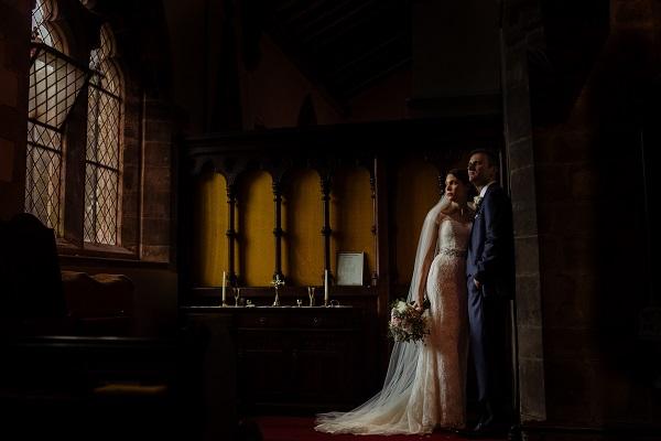 Creative Wedding York. Elegant bridal make up Victoria Farr. Toast of Leeds Photography