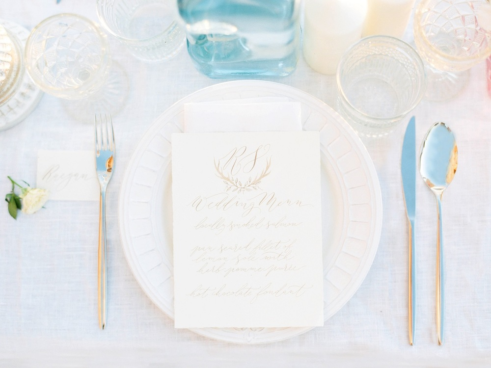 Soft Wedding Stationery Claire Gould  Hannah Duffy Photography