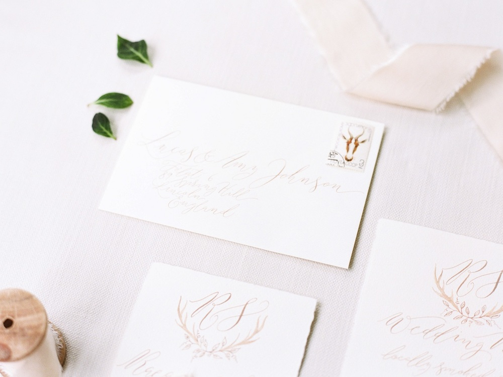 Wedding Stationery by Claire Gould