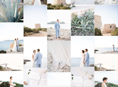 Summer Ibiza Elopment Wedding Inspiration