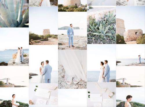 Summer Ibiza Elopment Wedding Inspiration