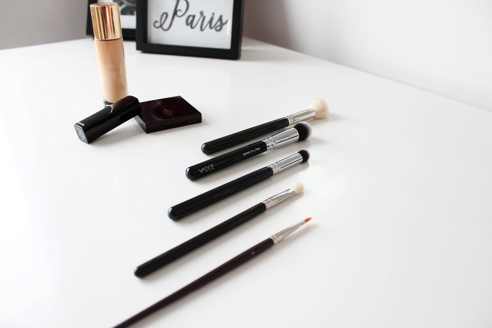 Victoria Farr Top 5 Make Up Brush Must Haves for Bridal Clients. Zoeva, Mac, Louise Young