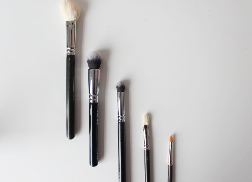 Mac Zoeva Louise Young Make Up Brushes