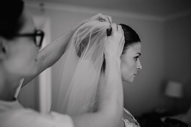 I love this part of bridal prep, when everything comes together.  Emotions are high for everyone involved as it's right before the ceremony begins. For me it's the end of my journey with my bride and seeing all our ideas, plans and full vision comes together. Sarah and I exchanged a smile and a dainty hug just before her wedding at @eastriddlesdenhallweddings in August and my goodness, she looked incredible! Thank you Sarah for passing over a few images from our morning together, it was my pleasure to work with you 🖤 📷 @abbie_sizer_photography - - - #eastriddlesdenhall #weddinghair #victoriafarr #makeupartist #yorkshirewedding #weddingmakeupartist #weddingmoments #bridalmakeup #bridalprep #attentiontodetail #weddinginspiration #weddingday #weddingmorning #instawedding #justinalexander #justinalexandersignature #weddingphotography #blackandwhitephotography #icare #itsnotjustajob