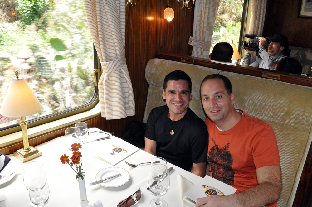 Gay Travelers Luxury Train to Machu Picchu