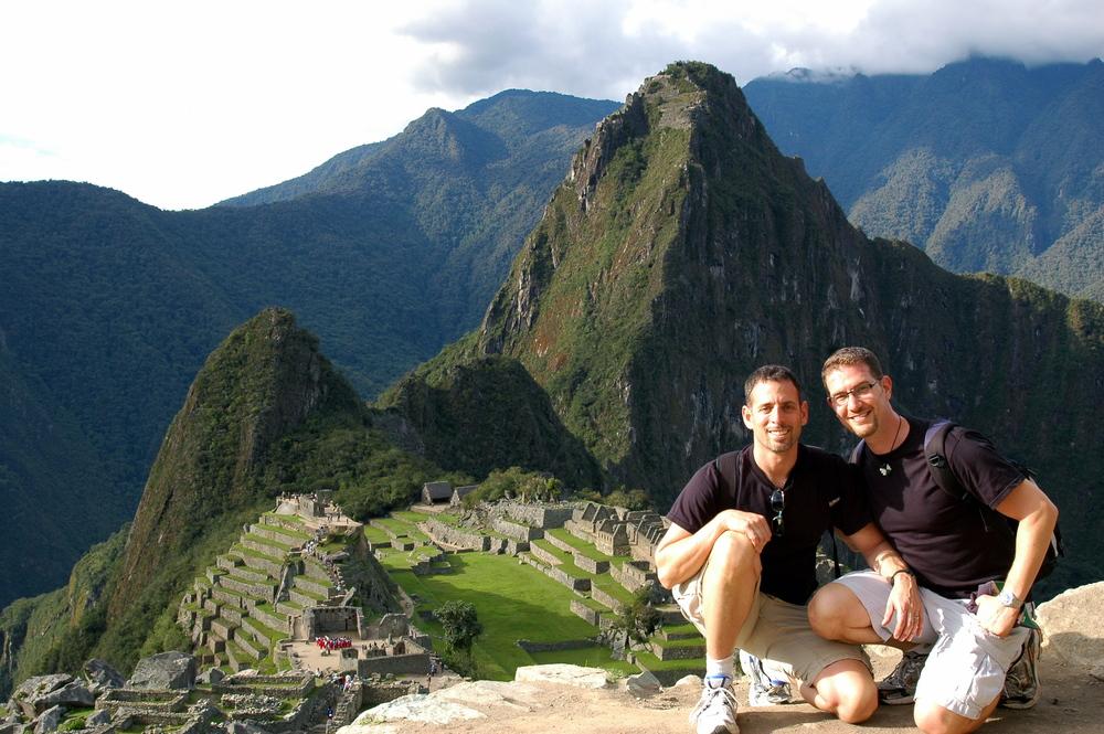 Gay Couple in Machu Picchu