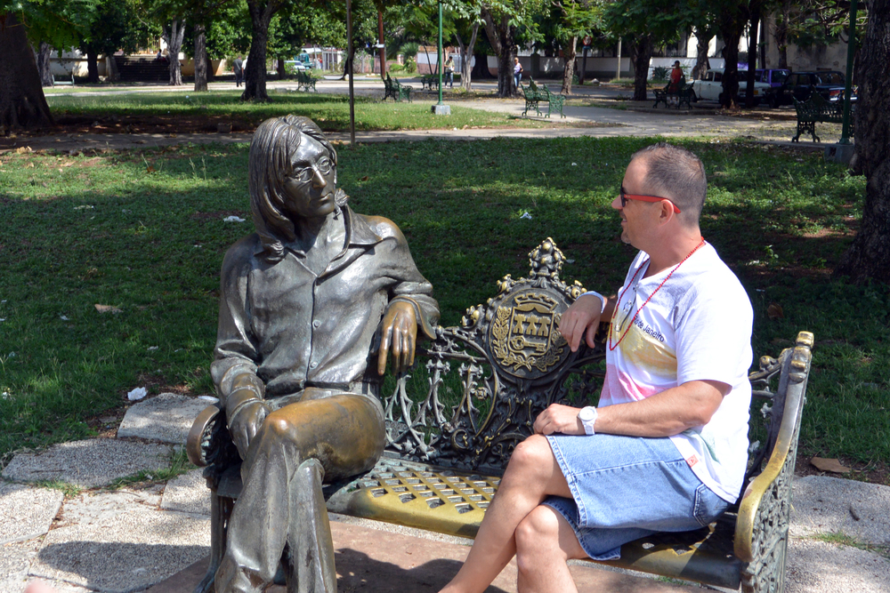 Havana John Lennon statue
