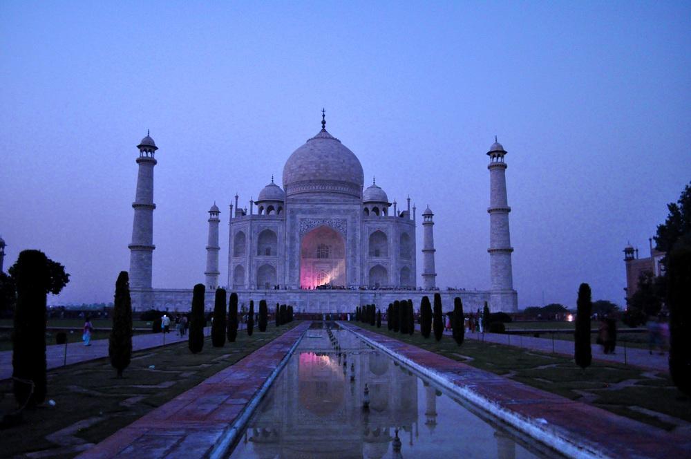 Taj Mahal by Night
