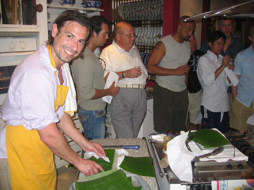 Cooking in Paraty