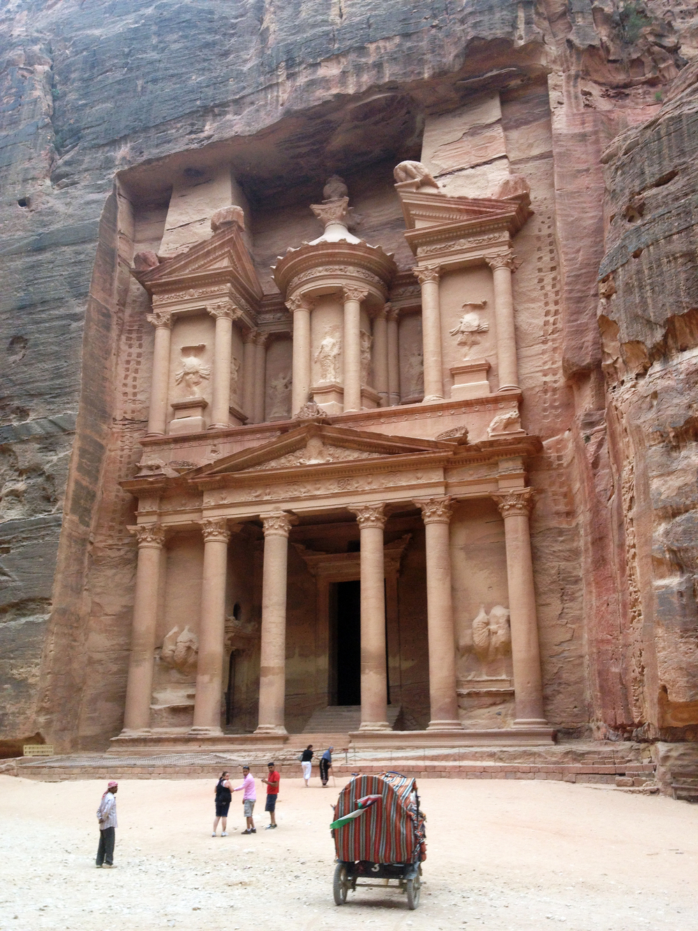 Library at Petra
