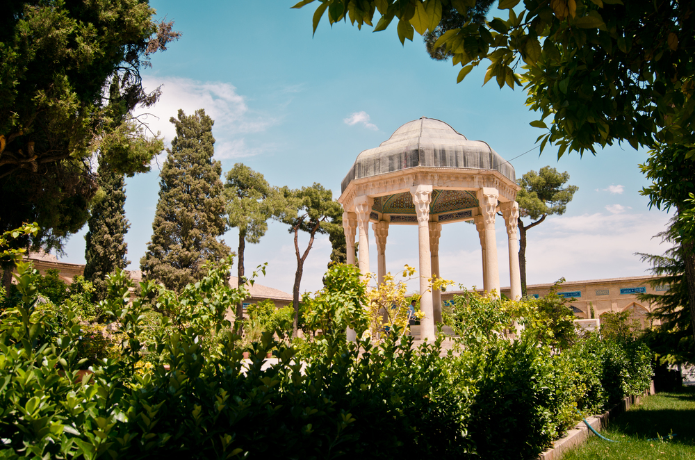 Tomb of Hafez in the Musalla Gardens