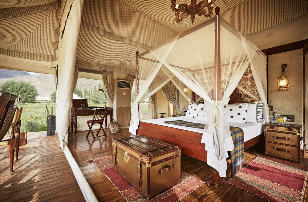 Luxury Suite Tent Interior