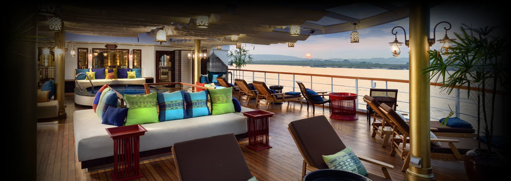 Sail the Irrawaddy River on the Sanctuary Ananda.