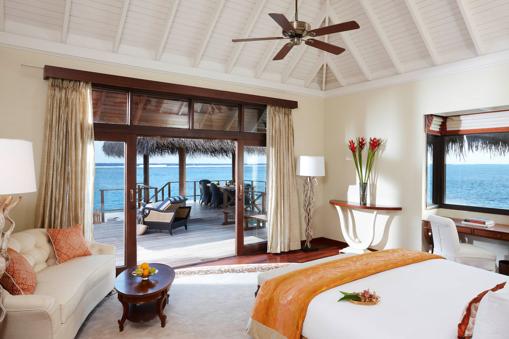 Waking up to the Indian Ocean at the Taj Exotica Resort & Spa.