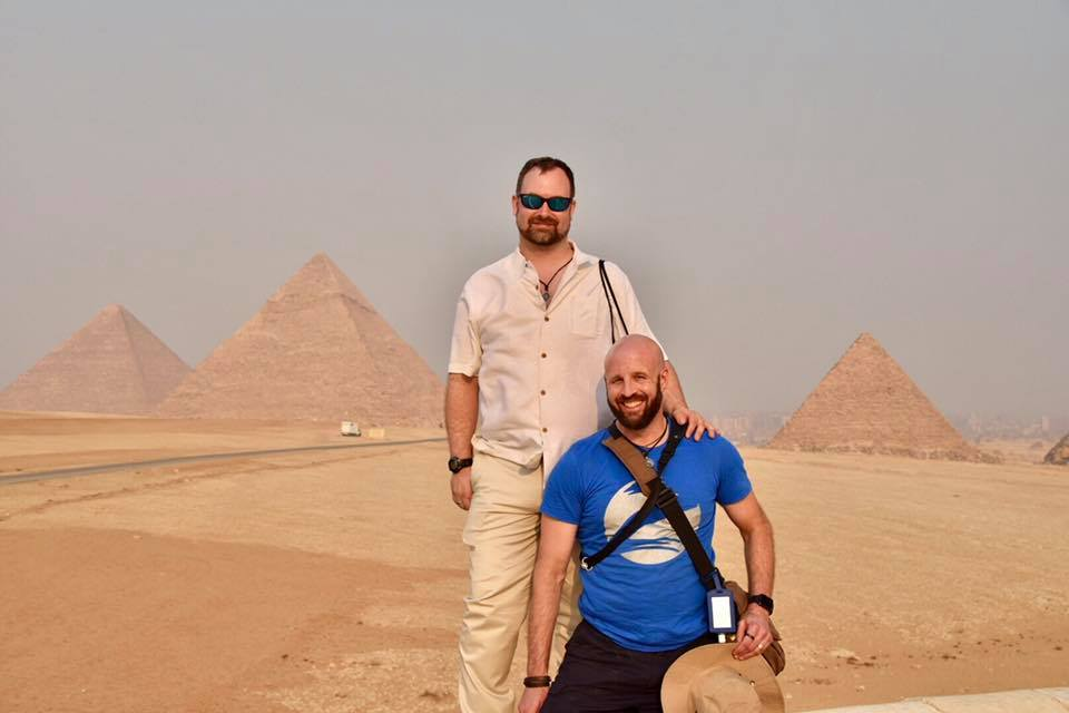 Featured Travelers: Chris and Dennis from Churchville, NY