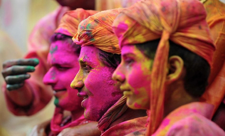 "India Holi Festival   Join ""The Festival of Colors"""