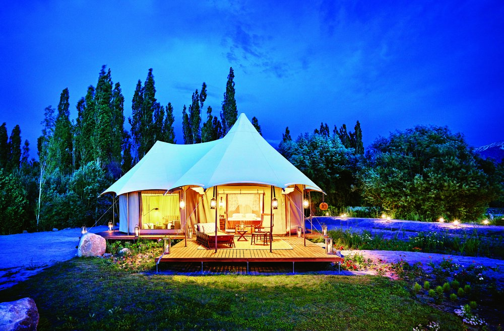 Ladakh India 'Glamping', September