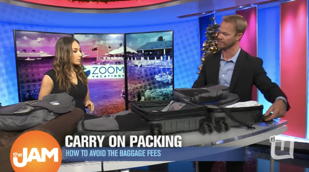 See Zoom Vacations' Bryan Herb give packing tips for your holiday trips