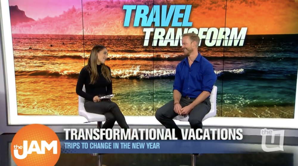 "A regular on WCIU's ""the Jam"", Bryan Herb from Zoom Vacations discusses transformational travel.  Host Danielle and Bryan talked about South Africa and India, and even their shared love of Miami."
