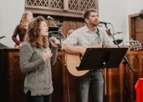Worship at the river church