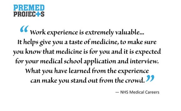 NHS Medical Work Experience