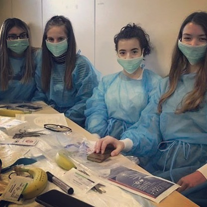 Doctors in the making 😷