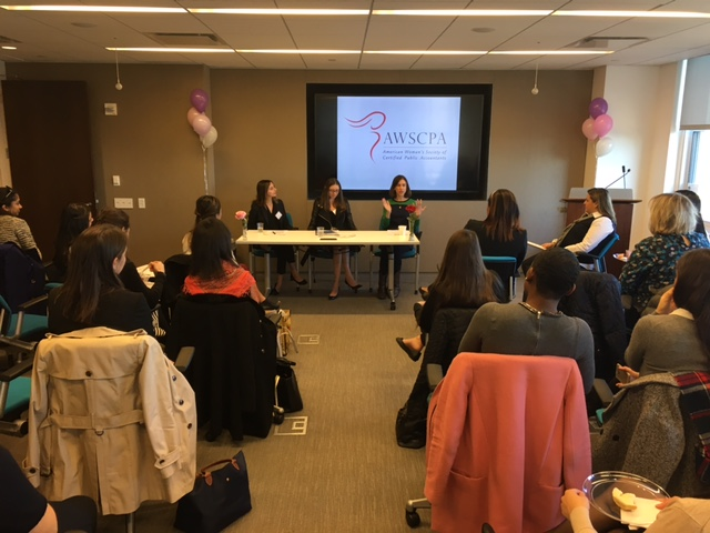 Rachel Beider, Alicia Baughn, and Carin Crook on the Wellness Panel
