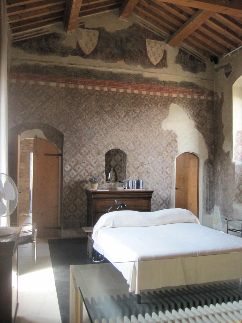 Frescos at Torre di Sopra